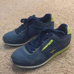 KangaROOS Navy Magnolia Bright 8.5 Zipper Sneakers